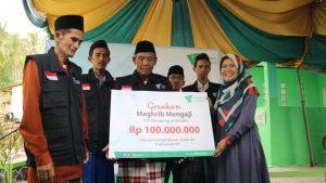 Kebaikan zakat program Dakwah dompet dhuafa Banten