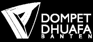 logo dompet dhuafa banten putih