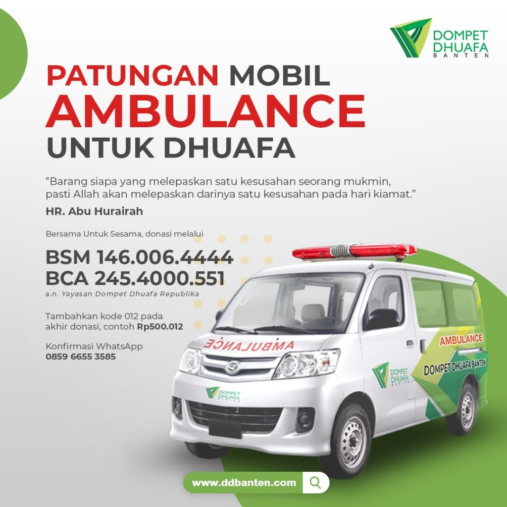 Ambulance Gratis Untuk Dhuafa