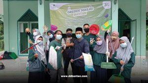 Relawan dompet dhuafa banten yang tergabung dalam ddv banten adakan program grebek masjid di 11 titik