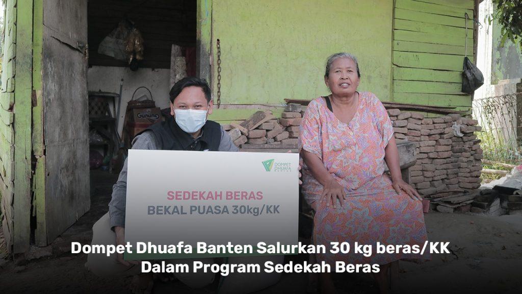 Sedekah Beras Dompet Dhuafa Banten