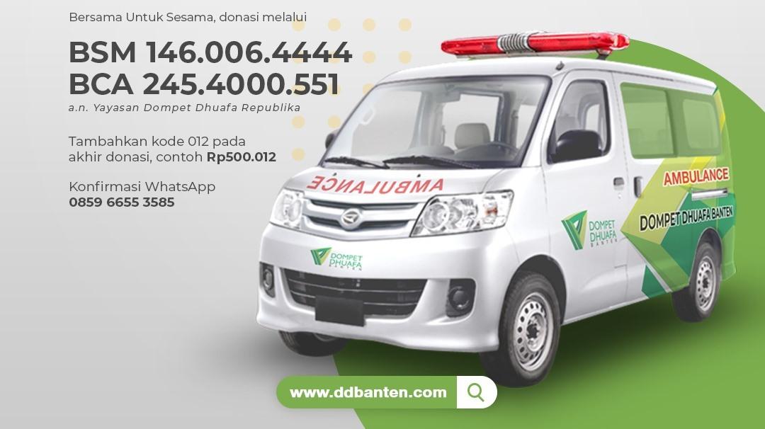 patungan ambulance untuk dhuafa