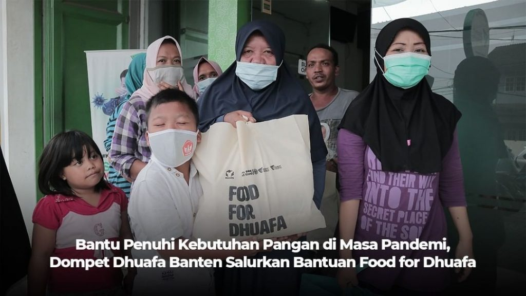 program sosial food for dhuafa dompet dhuafa banten