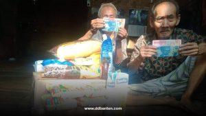 berkat zakat dan sedekah sahabat, dompet dhuafa banten mamapu menanggung biaya hidup dua kakek muallaf bersaudara di lebak lebih dari dua tahun